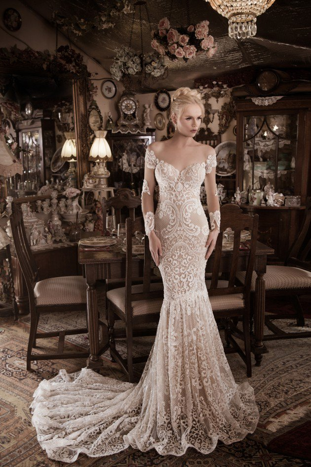 """Spiritual Design"" 2016 Wedding Dress Collection by Naama & Anat"