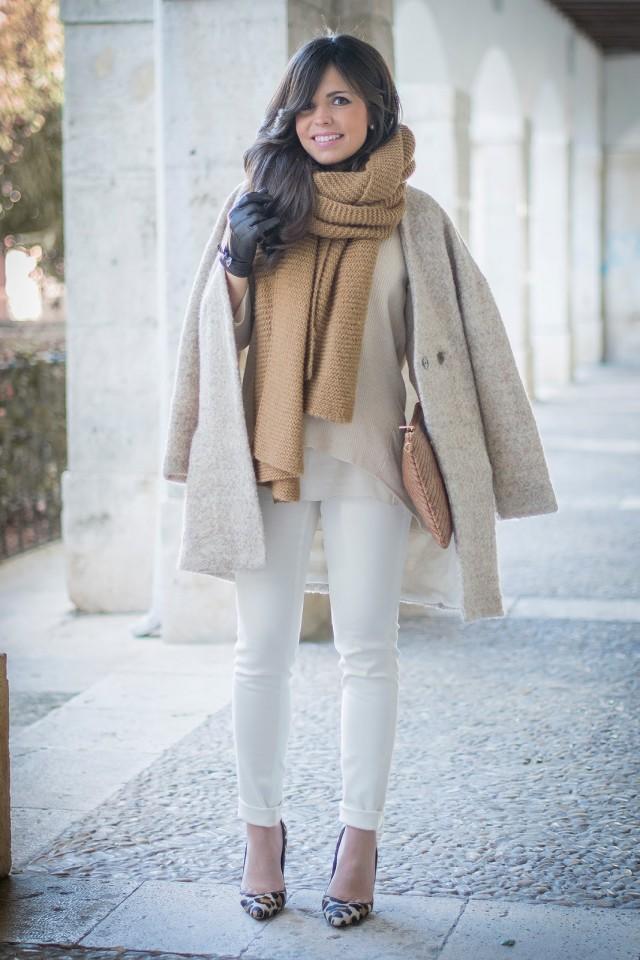 beige combination