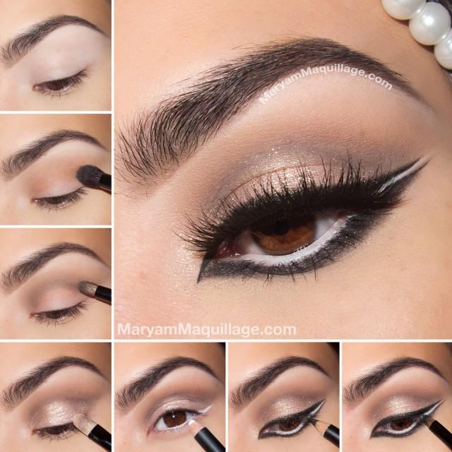 beige makeup