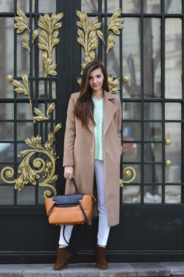 brown coat