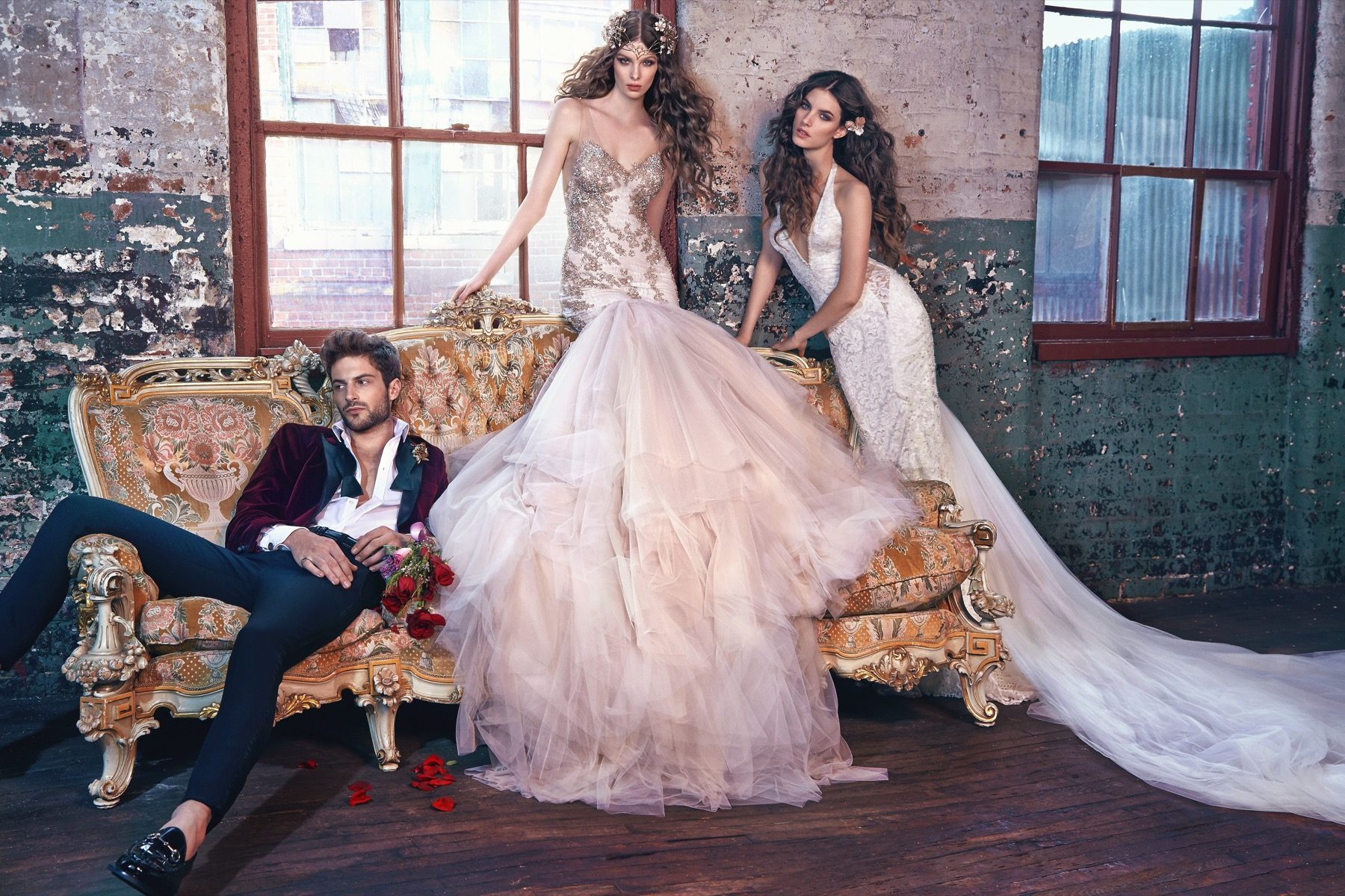 "Timeless 2016 Bridal Collection By Galia Lahav: ""Les Reves Bohemians"""