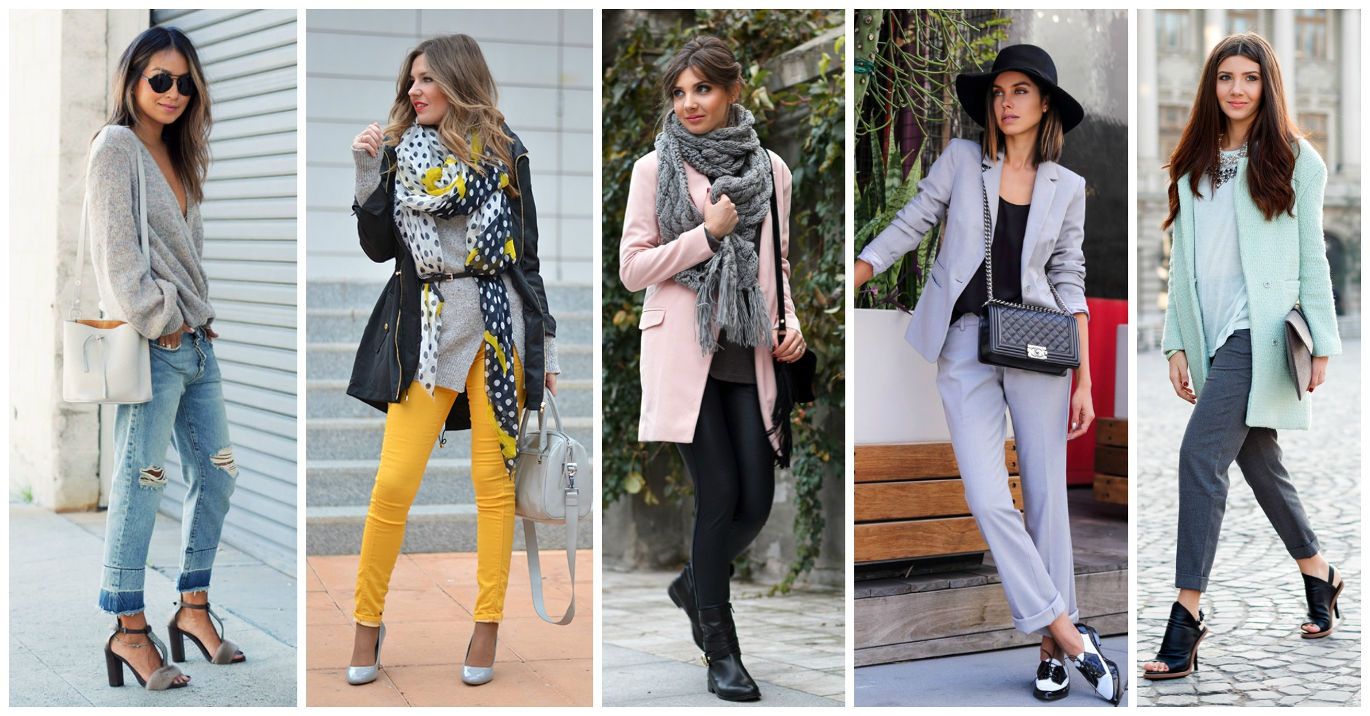Fancy Ways to Style Grey This Season