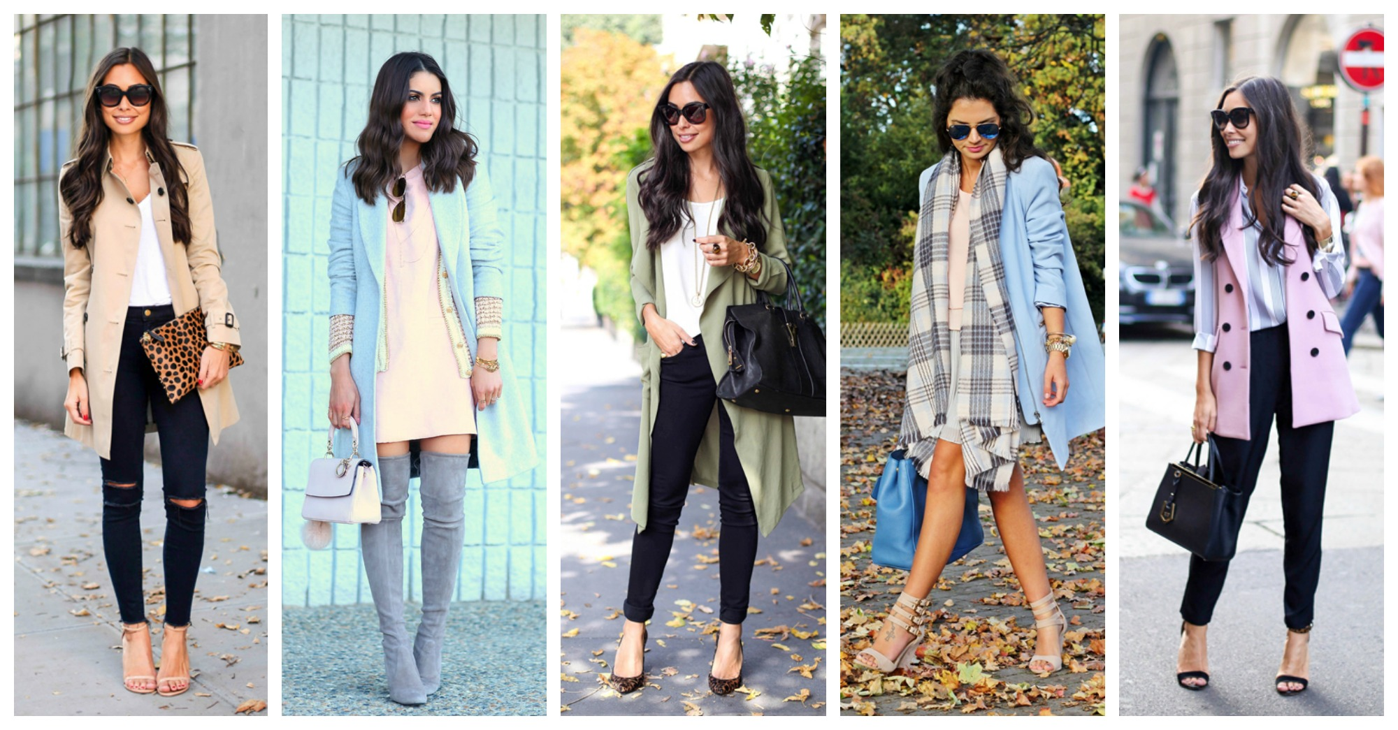 20 Lovely Ways to Wear Pastels In Fall