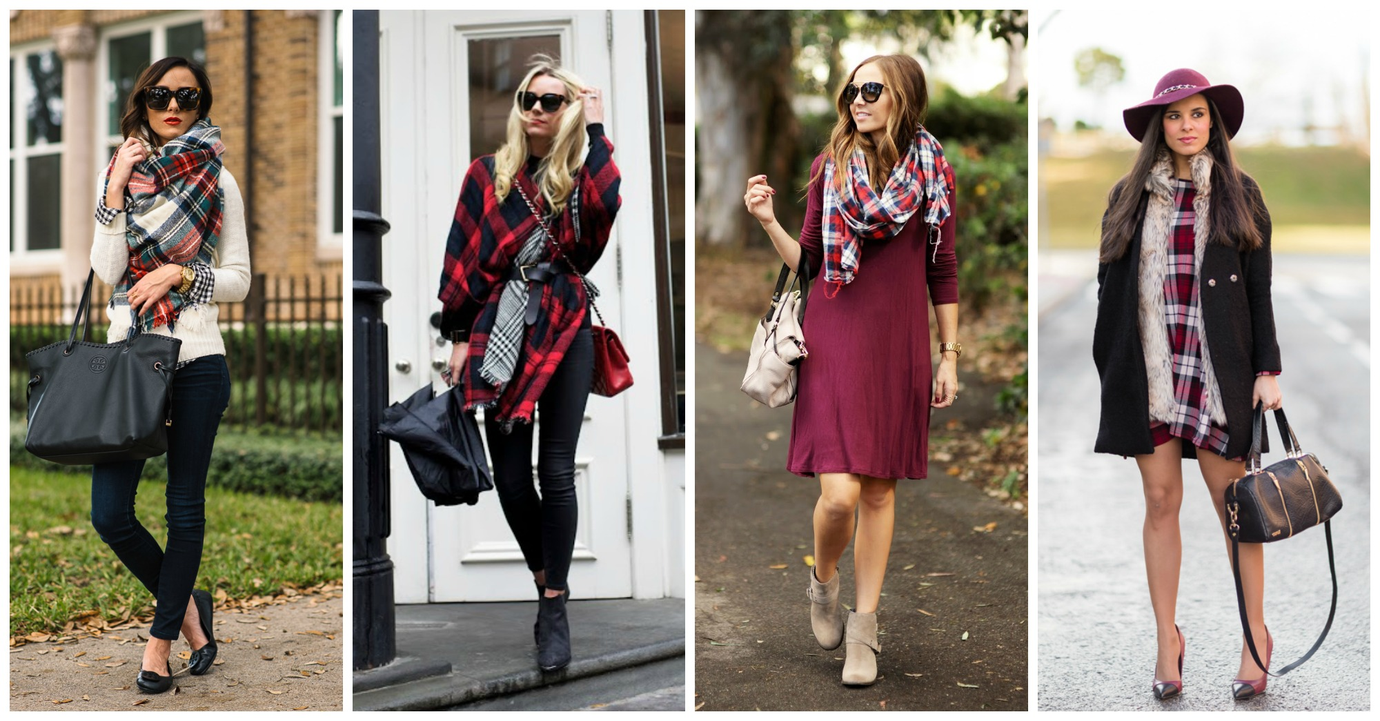 10 Fancy Ways to Wear Tartan This Fall