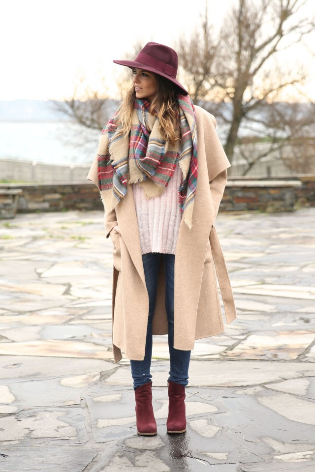 tartan scarf design