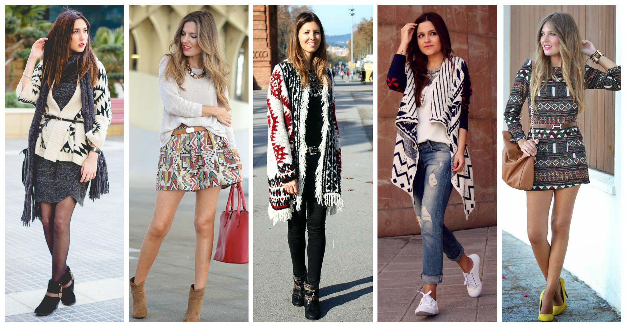15 Ideas of How to Wear Aztec in Winter