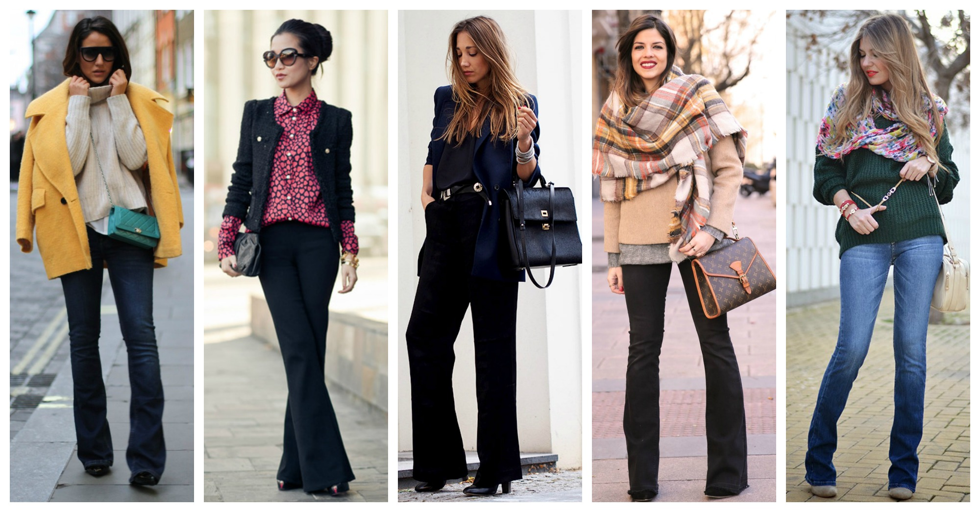 10 Ideas of How to Refresh Your Office Look With Flared Pants