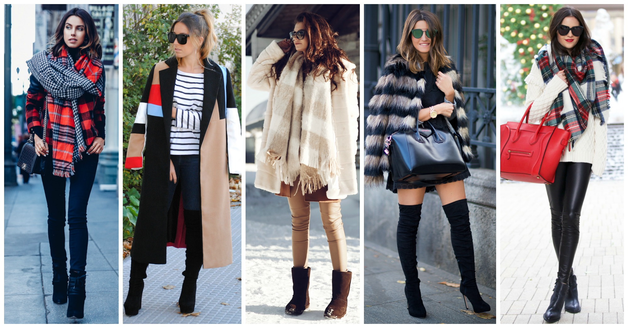 Warm Outfits to Copy This Winter
