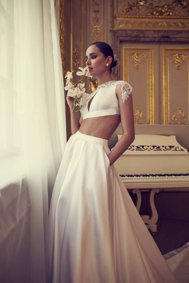 The White Heart - Timeless Wedding Dress Collection by Nurit Hen