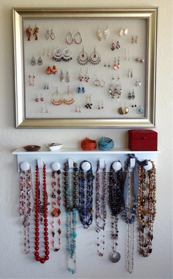 diy jewelry organizer15