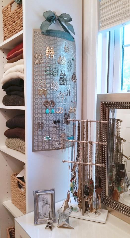 diy jewelry organizer16