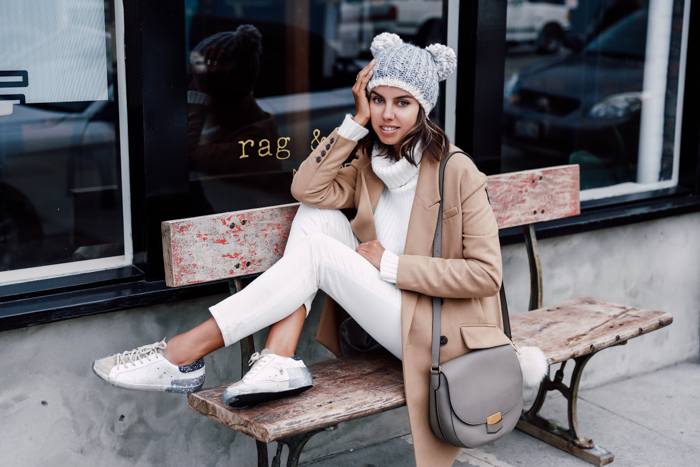 15 Simple Ways to Your Wear Beige Coat and Look Lovely