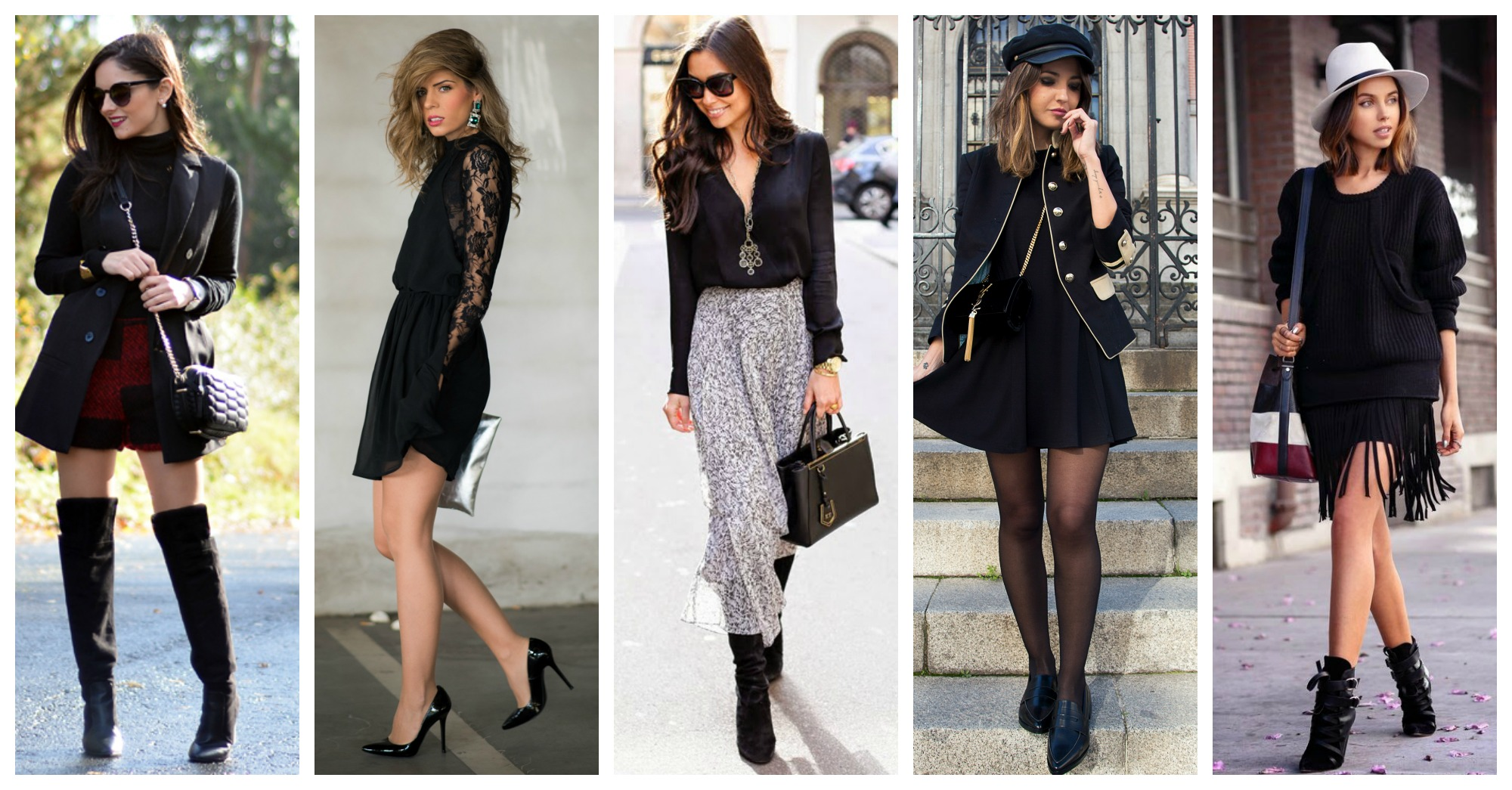 15 Ways to Wear Black and Look Elegant and Chic This Winter