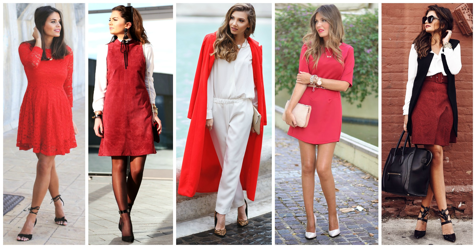 18 Adorable Red Outfits for Valentine's Day
