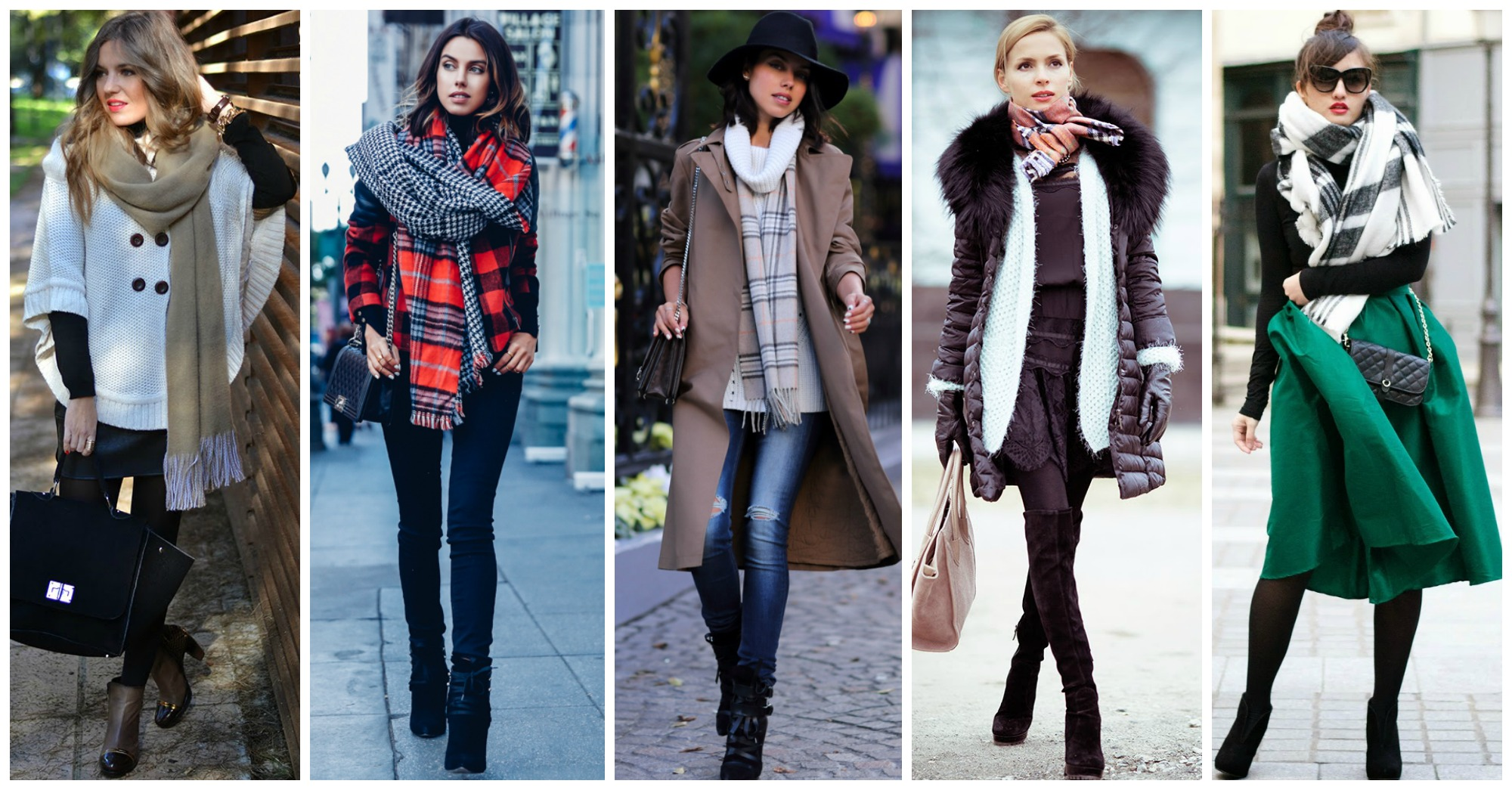 Beautiful Winter Outfits With Scarves to Copy Now