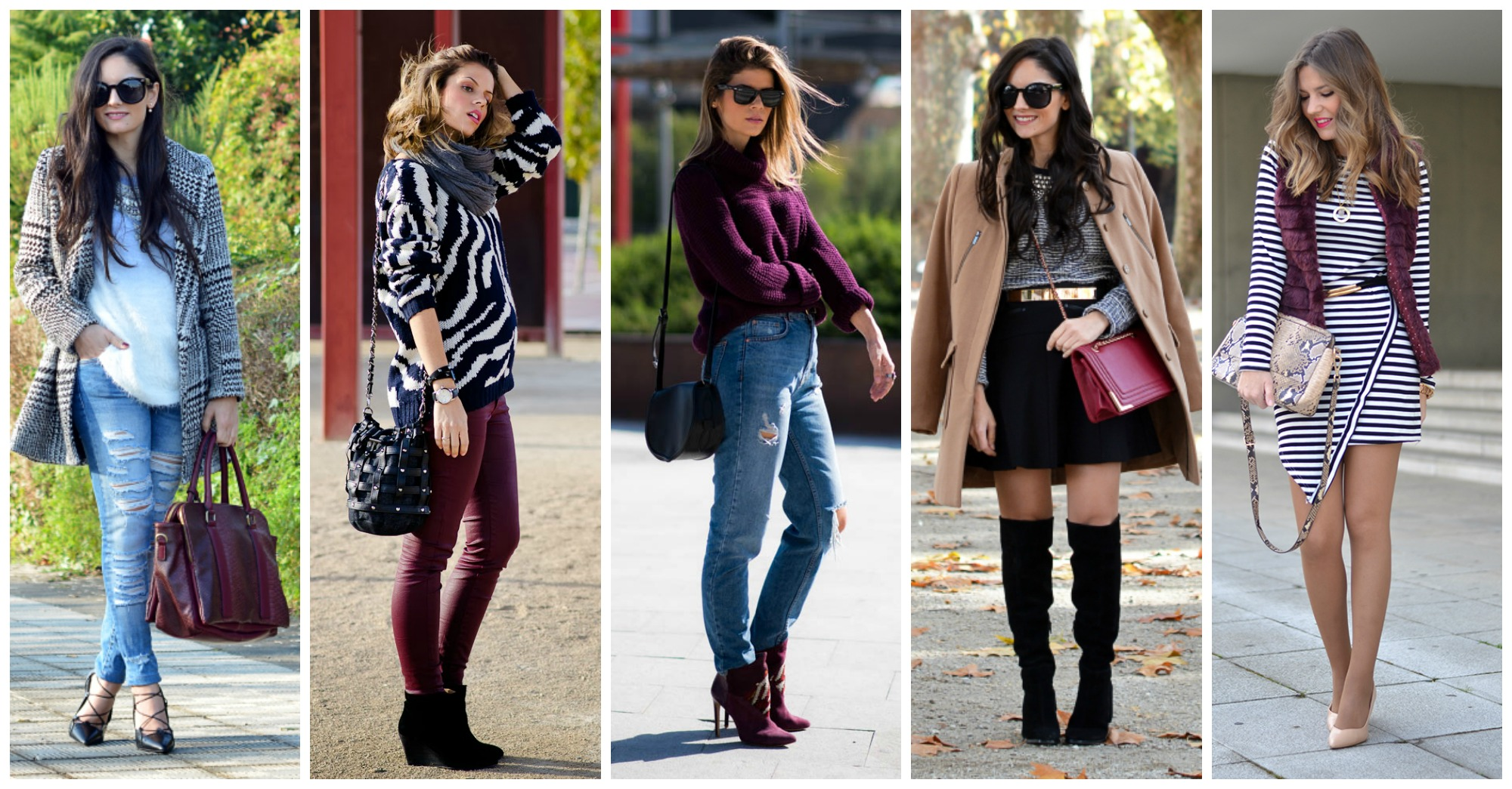 Warm and Cozy Winter Combinations to Copy Right Now