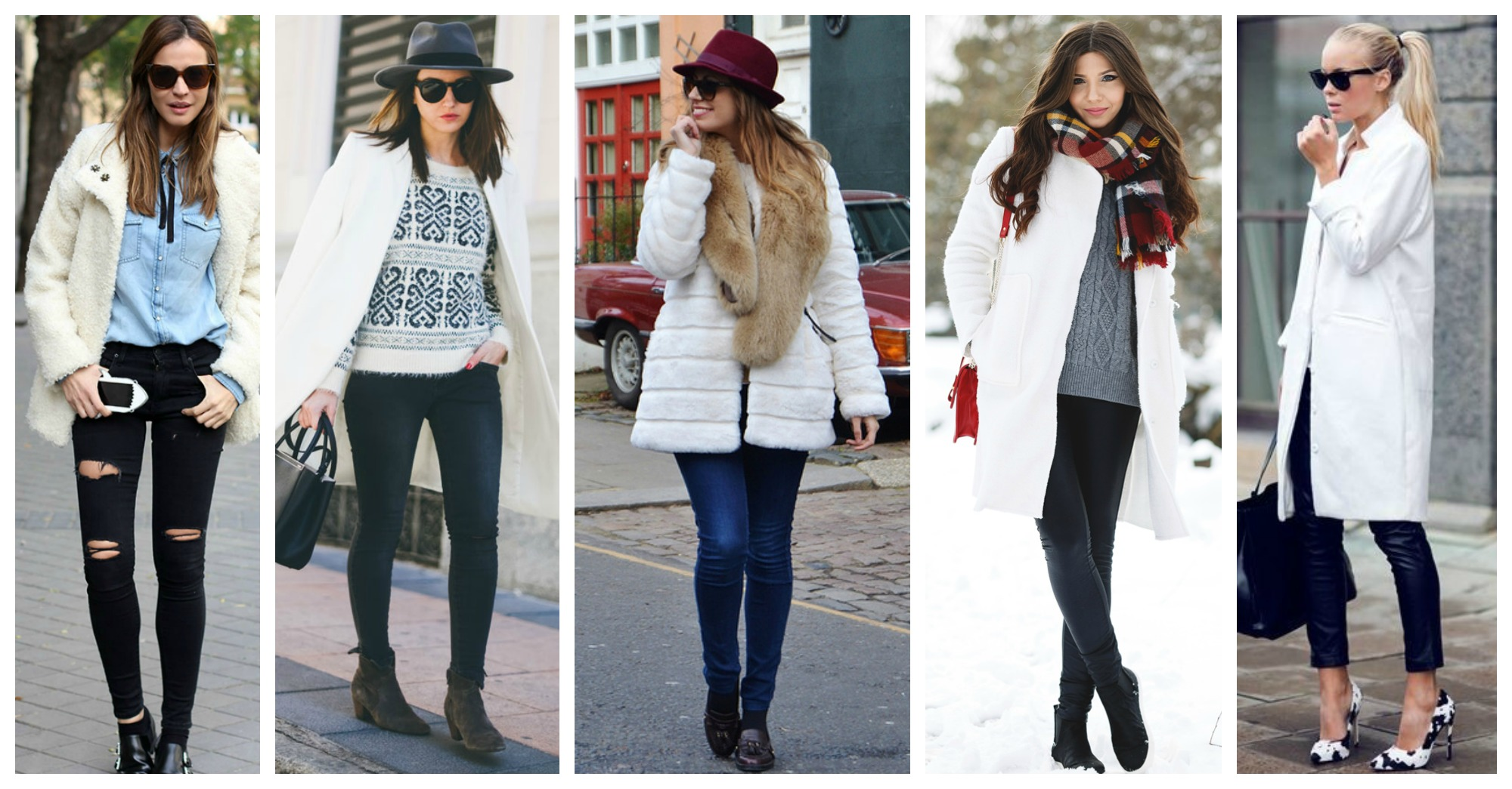 14 Ways to Wear Your White Coat This Winter