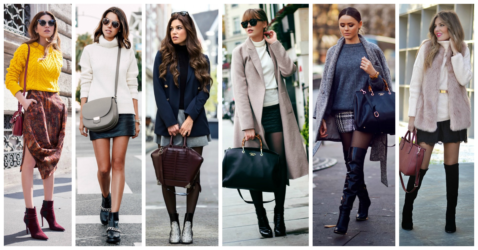 15 Marvelous Ways to Wear Skirts in Winter