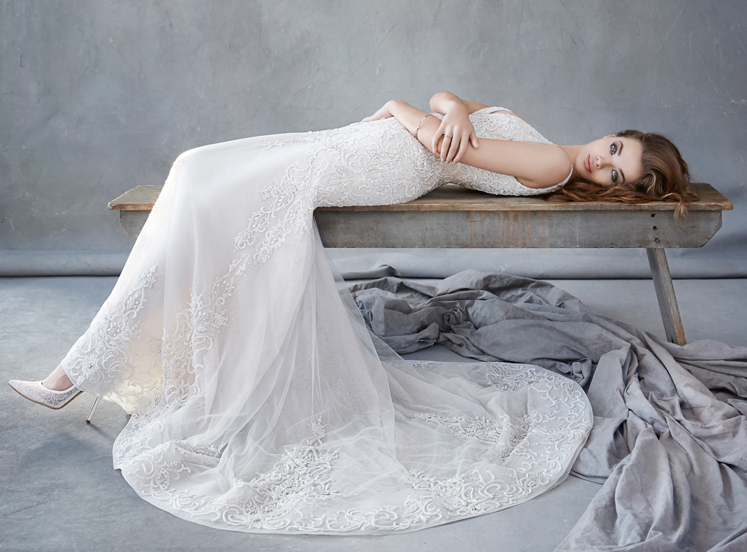 Romantic Wedding Dress Collection by Lazaro for Spring 2016