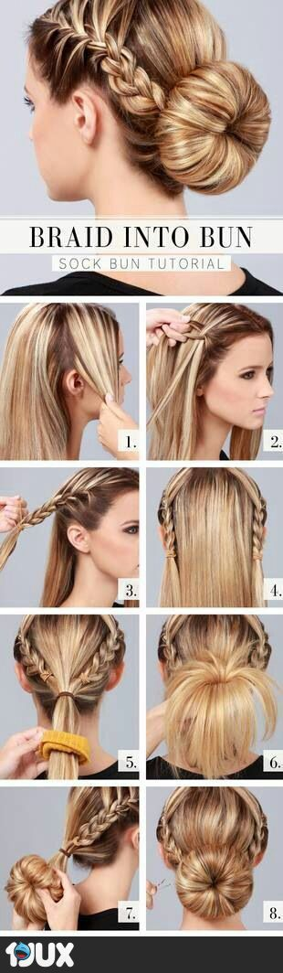 Step-by Step Hairstyle Tutorials You Should Not Miss