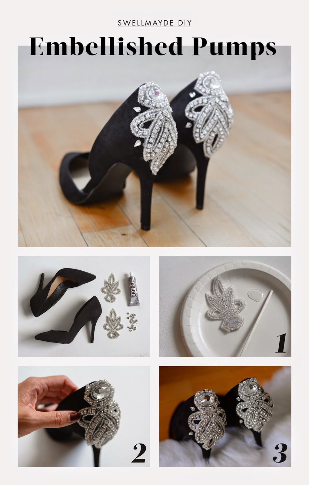 Step by Step DIY Heels That Will Blow Your Mind