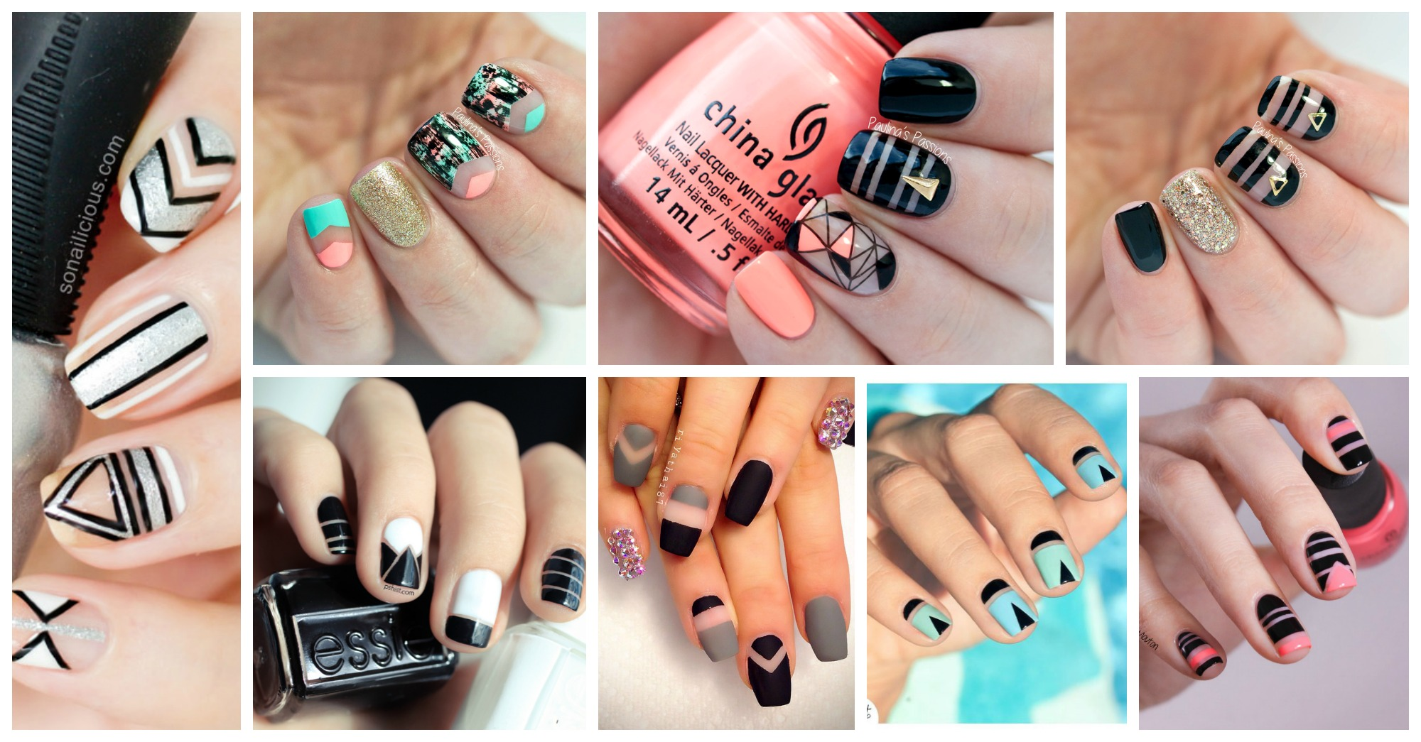 TREND ALERT: Negative Space Nail Designs
