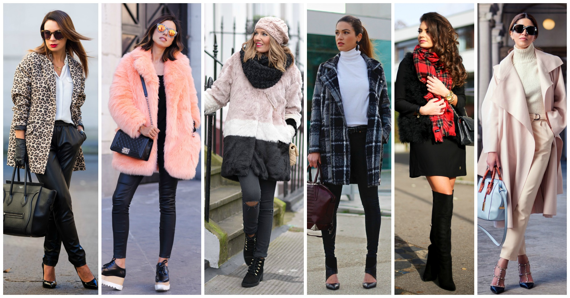 15 Fashionable Combinations to Copy This Winter