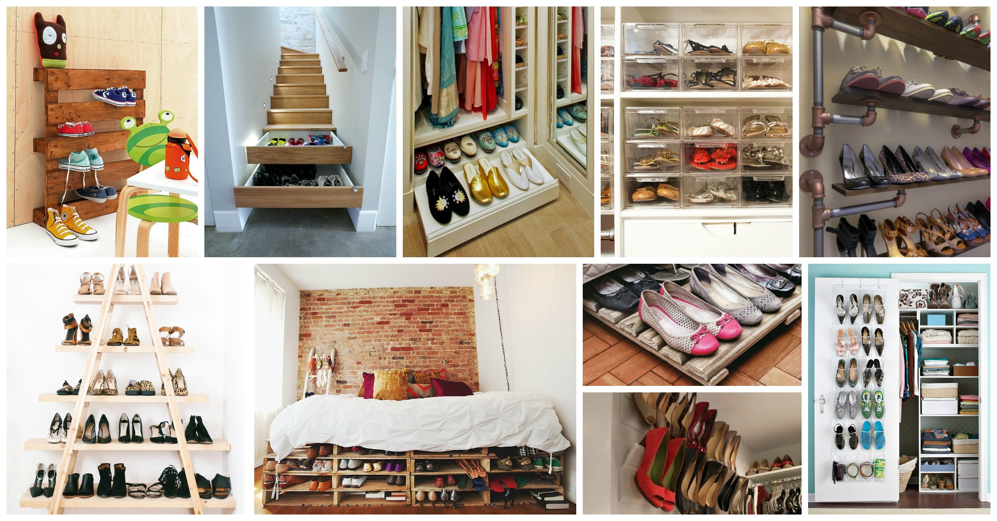 20+ Creative Shoe Storage Ideas That Will Impress You