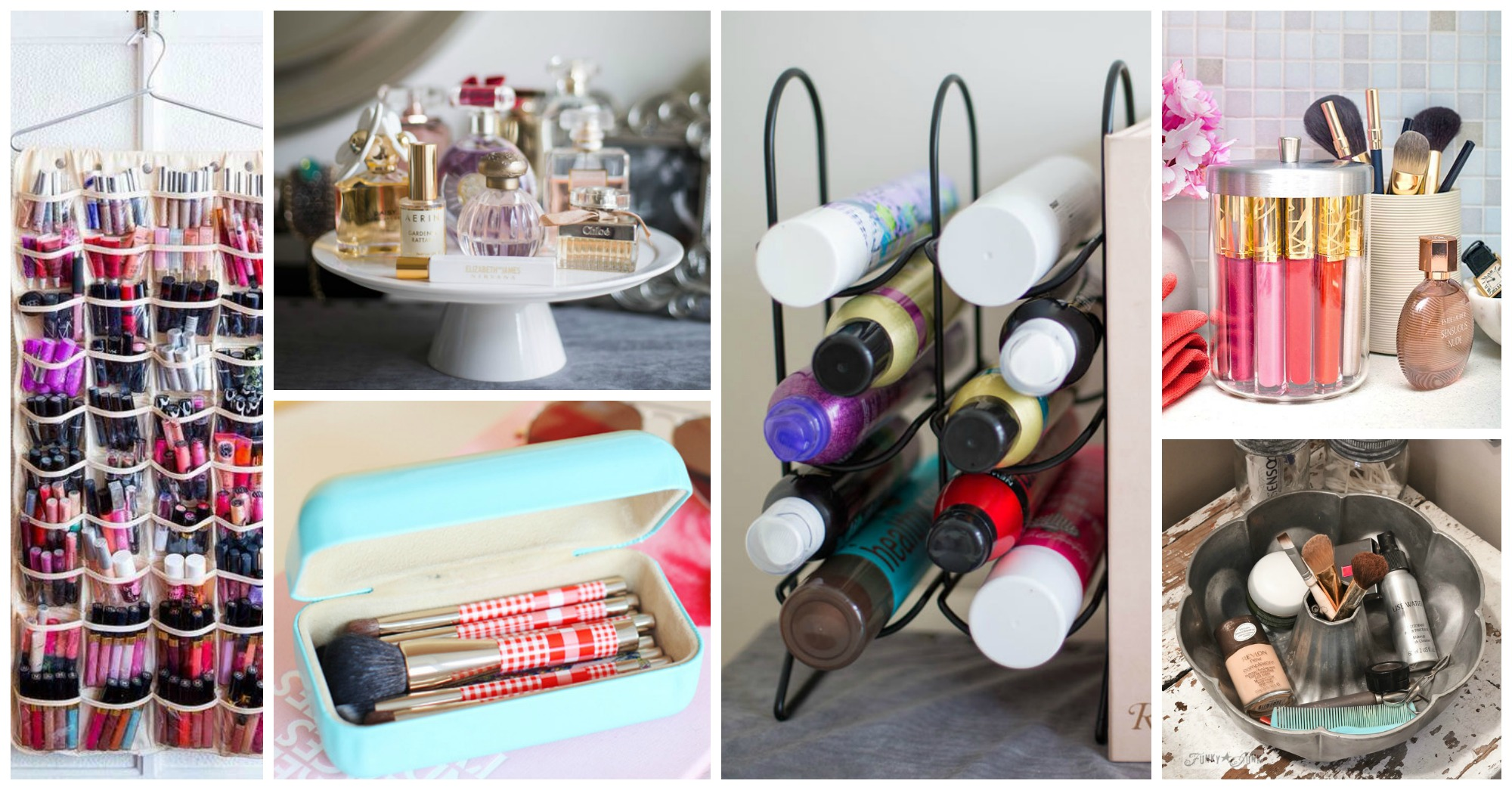 Lovable and Very Clever Ways to Organize Your Beauty Products