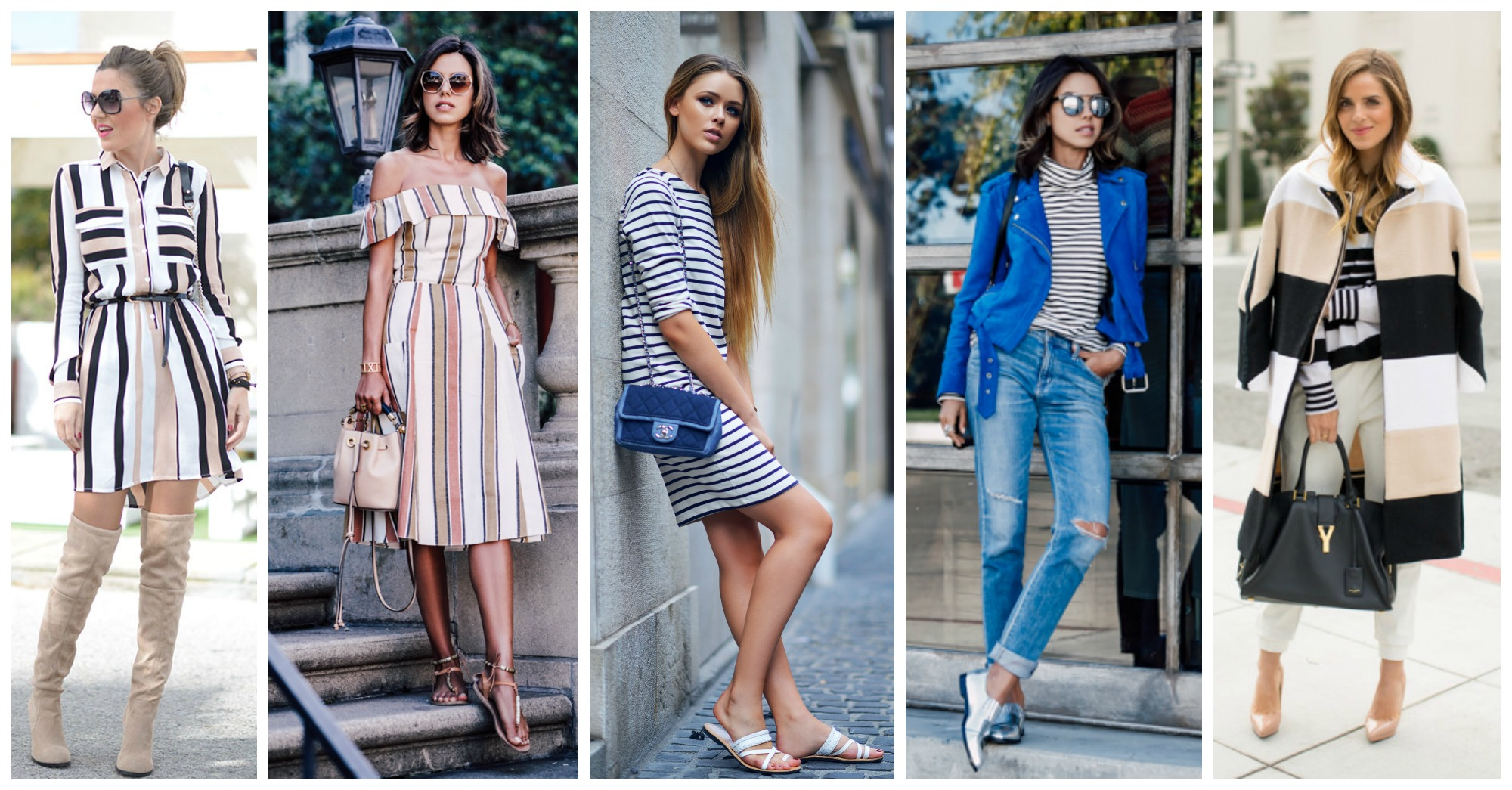 Stripes Are IN – 15 Stylish Ways to Follow This Trend