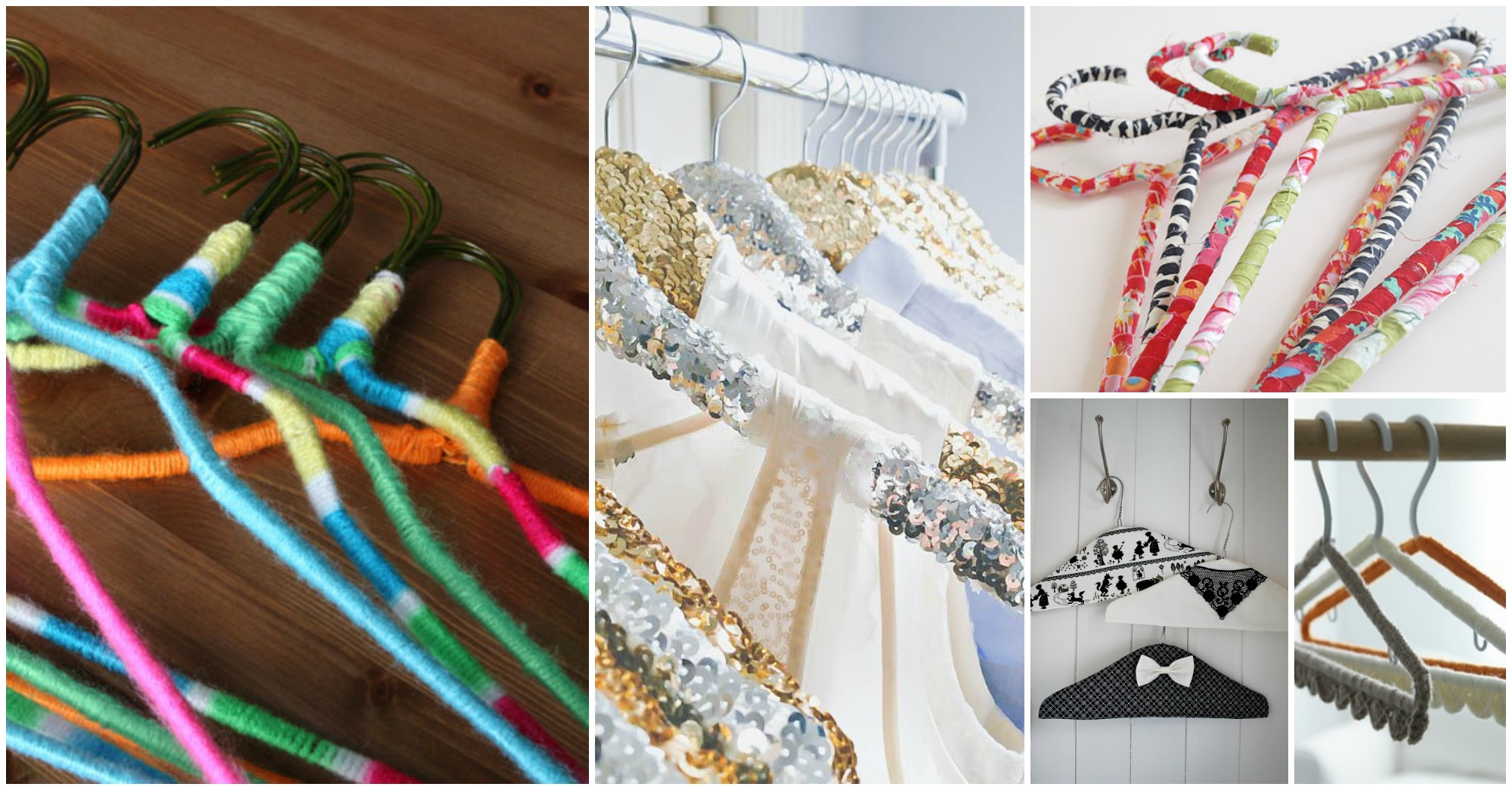 13 Lovely DIY Hanger Ideas That Will Impress You