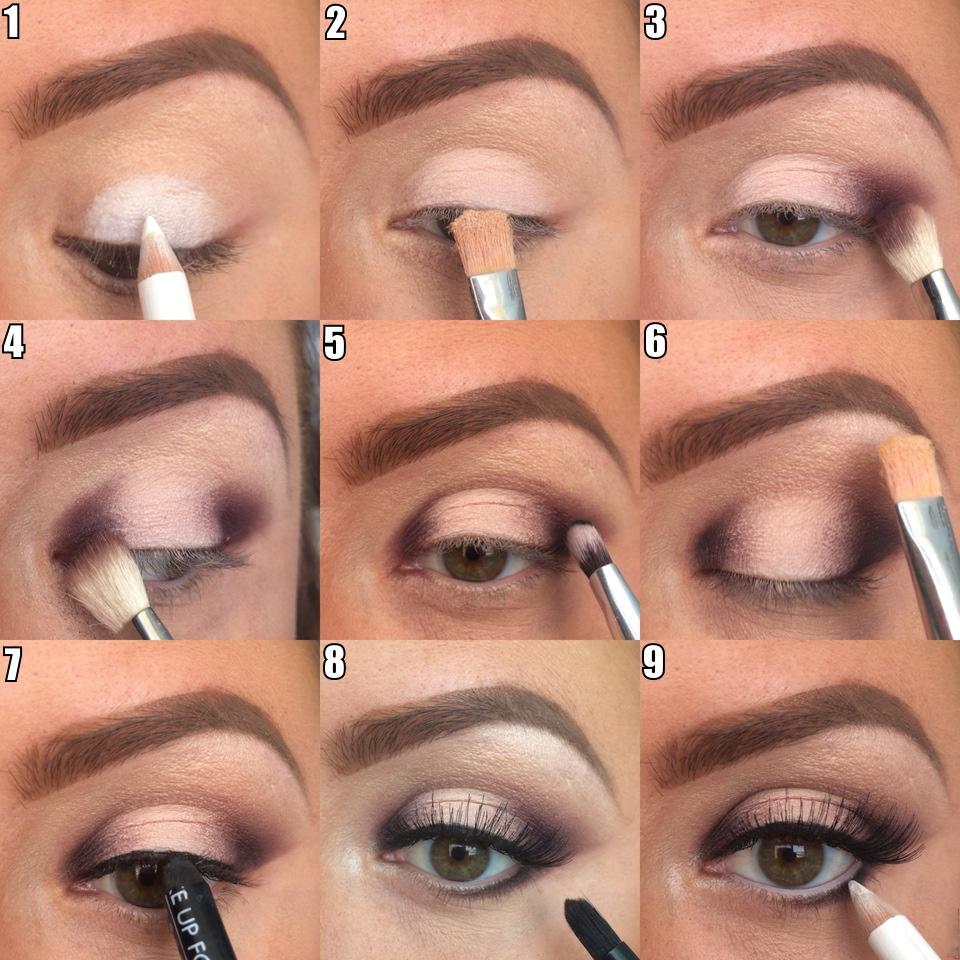 Как правильно делать макияж в домашних условиях поэтапно