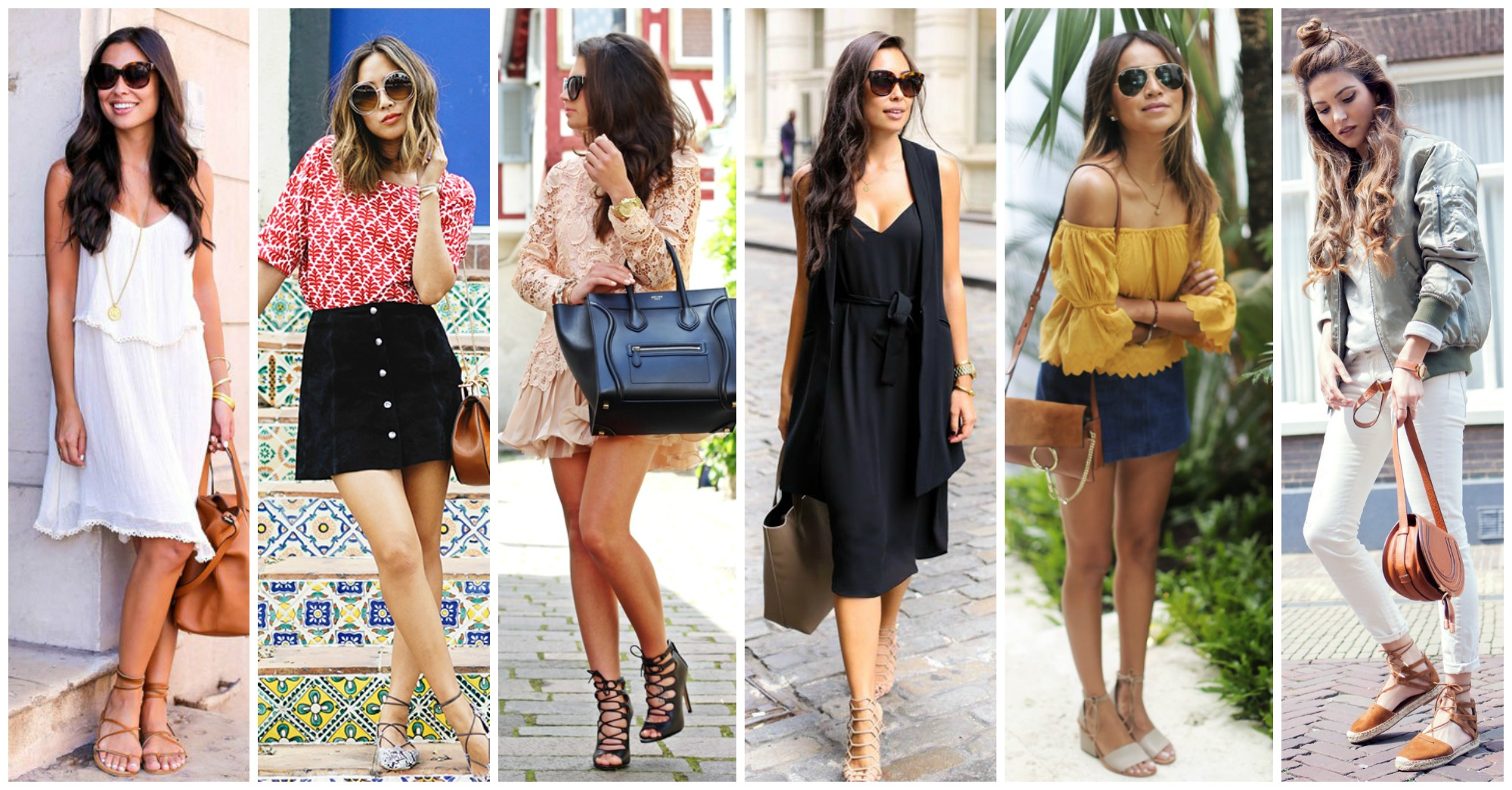 15 Fashionable Outfits of How to Wear Lace Up Shoes This Spring