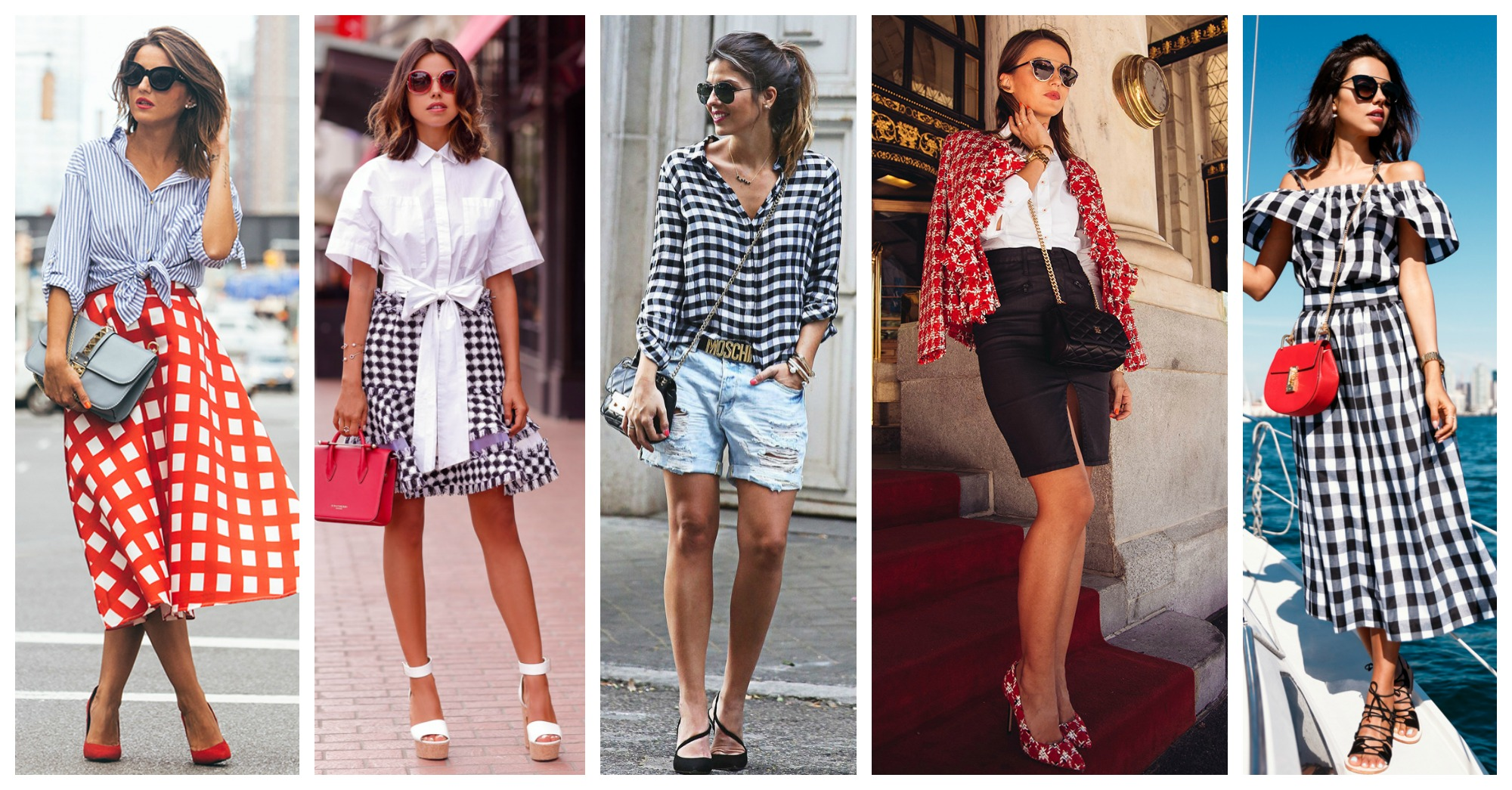 11 Stylish Ways to Pull Off the Gingham Trend This Spring