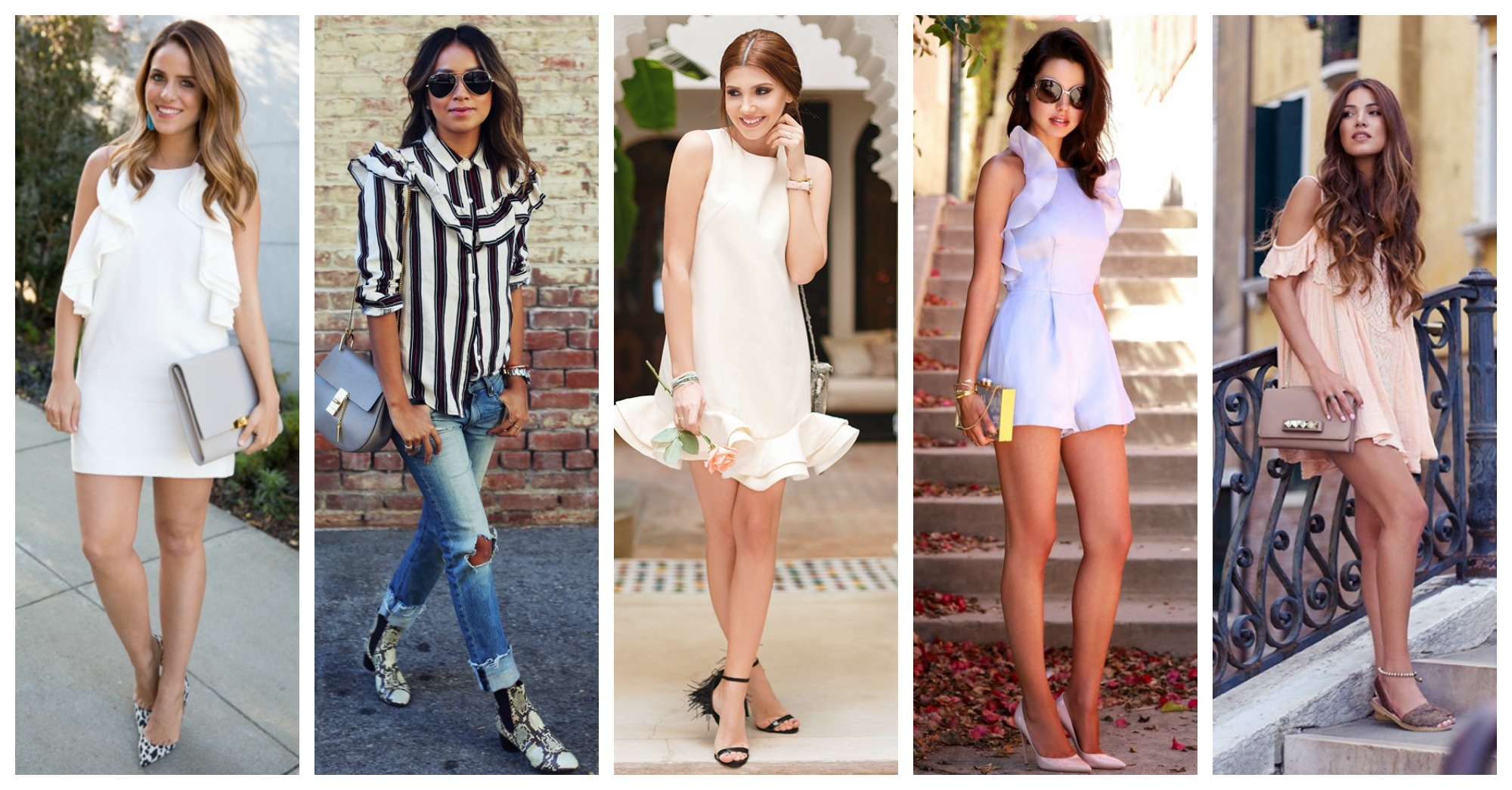 15 Stylish Ways Of How To Wear Ruffles This Spring