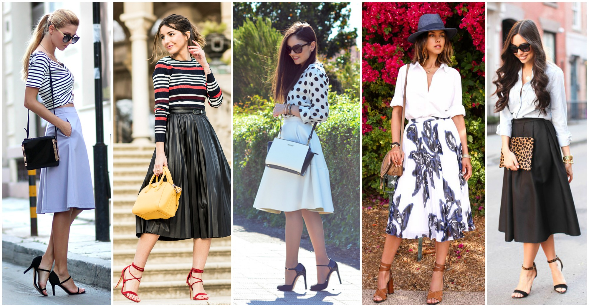 Stylish and Chic Ways to Wear Midi Skirts This Season