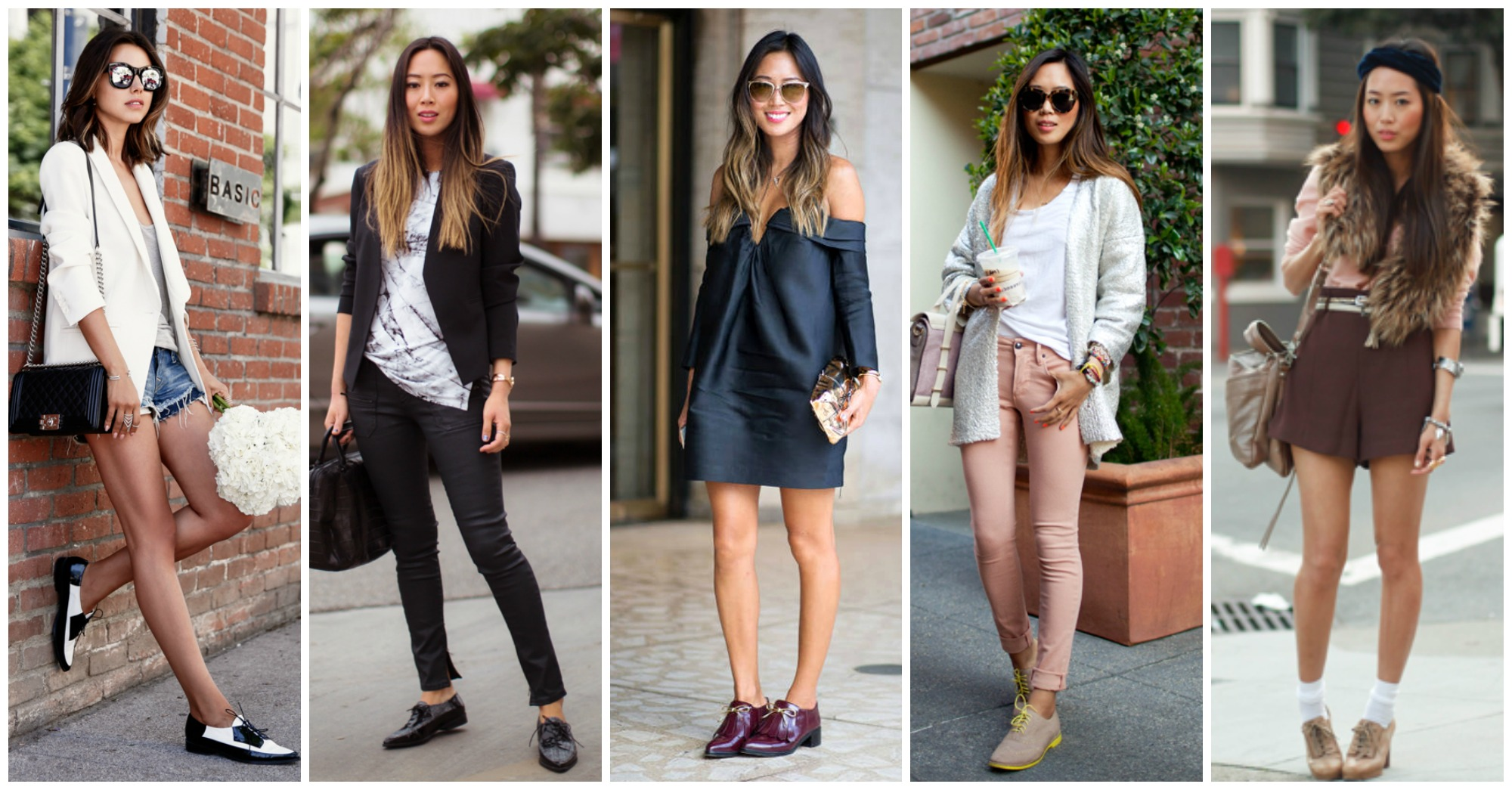 15 Stylish and Chic Outfit Ideas of How to Style Oxford Shoes