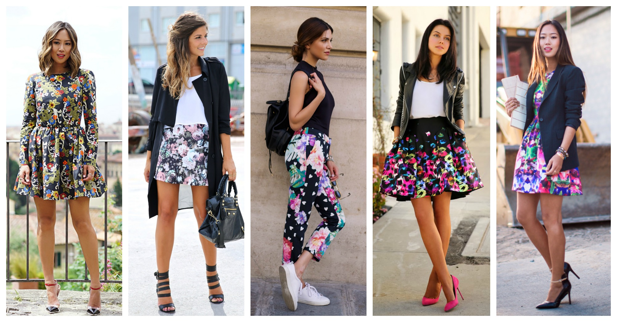 20 Fabulous Early Spring Outfits with Floral Pattern