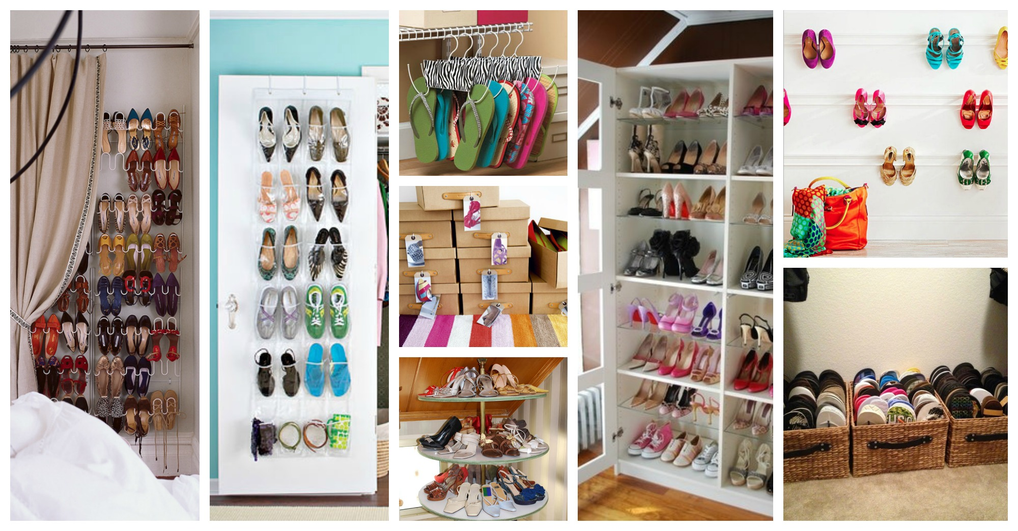 15 Clever Storage Solutions to Organize Your Shoes in Spring