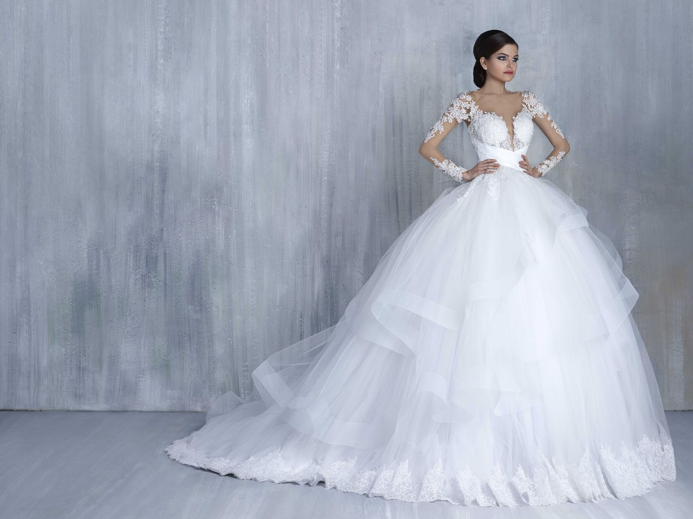 Timeless Bridal Spring/Summer 2016 Collection by Tony Chaaya