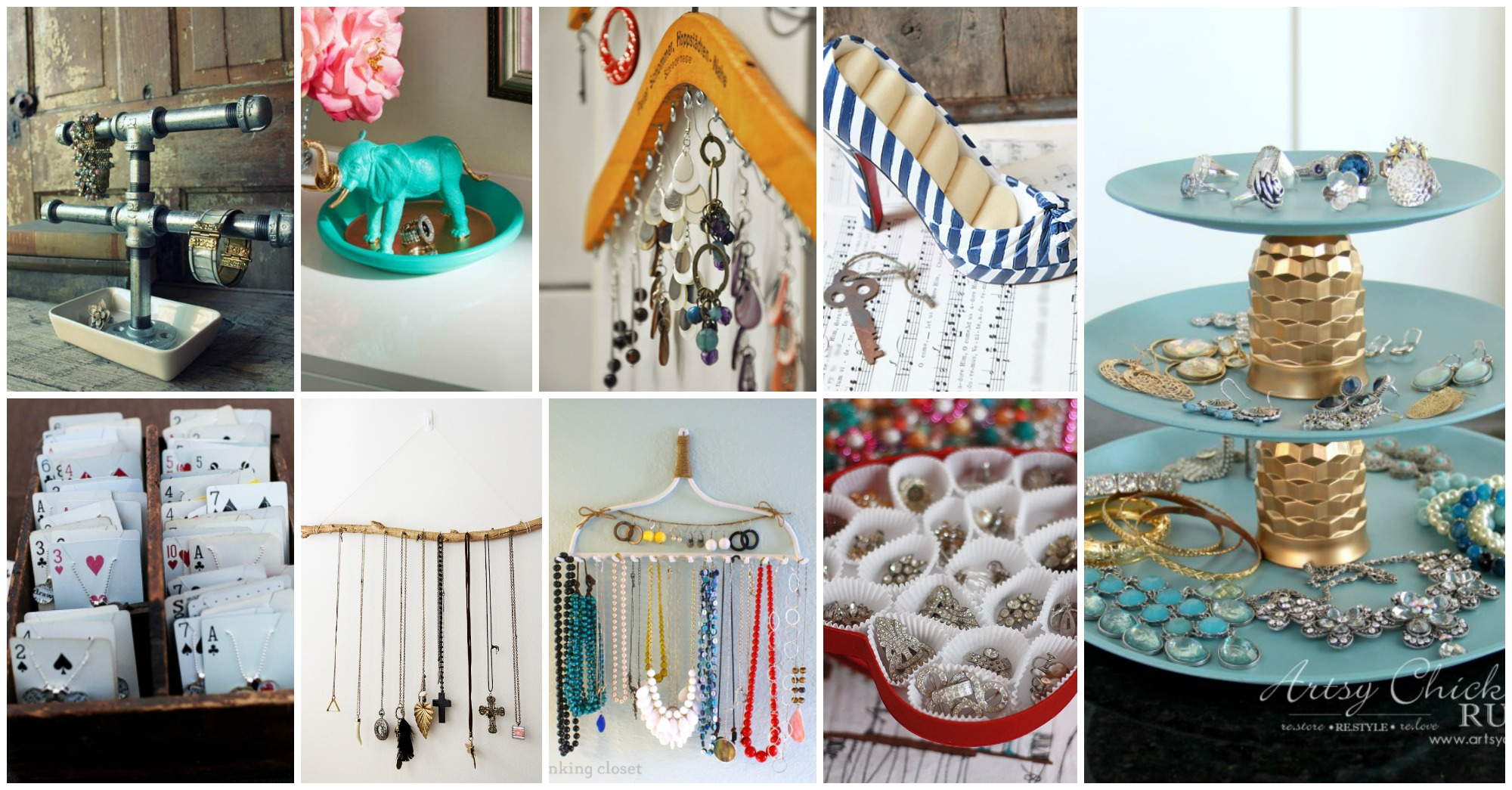 Top 10 DIY Jewelry Holders to Make Right Now