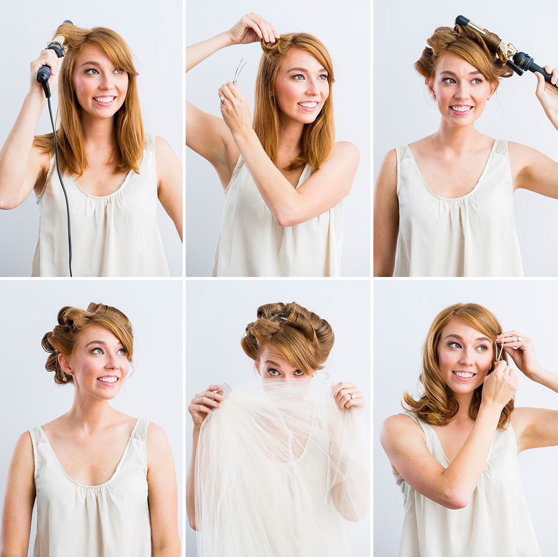 15 Step-by-Step Bridal Hairstyle Tutorials You Need to See