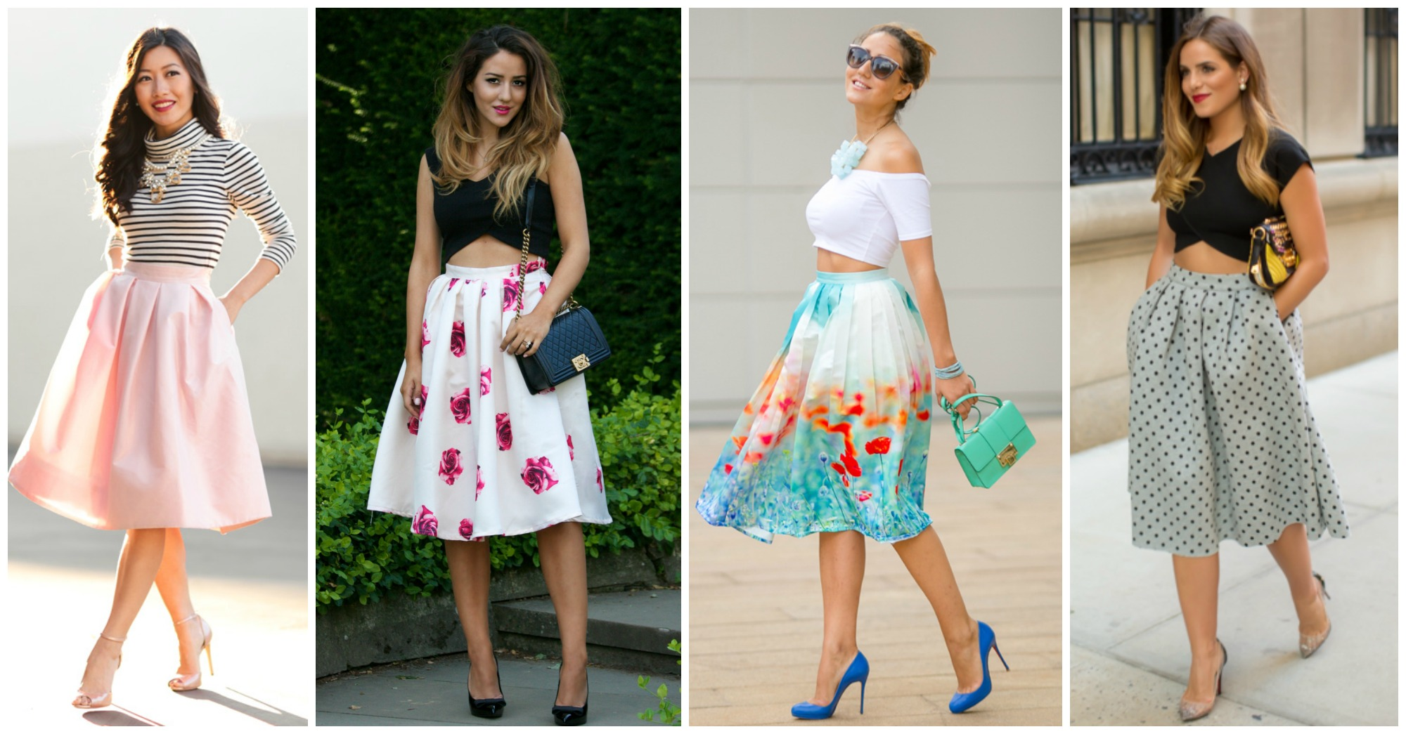 15 Stylish and Chic Outfits with Midi Skirts to Copy This Season