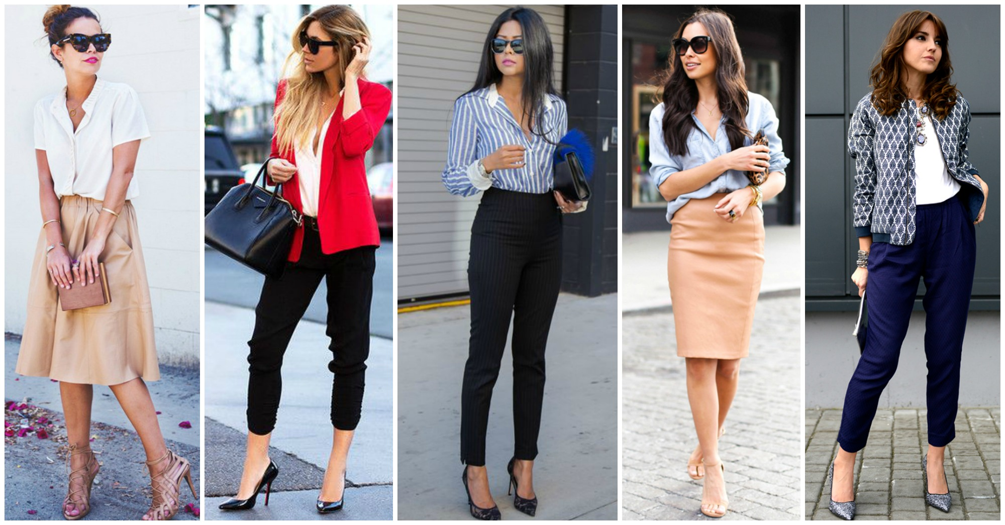 Classy and Chic Outfits to Wear To Work This Spring