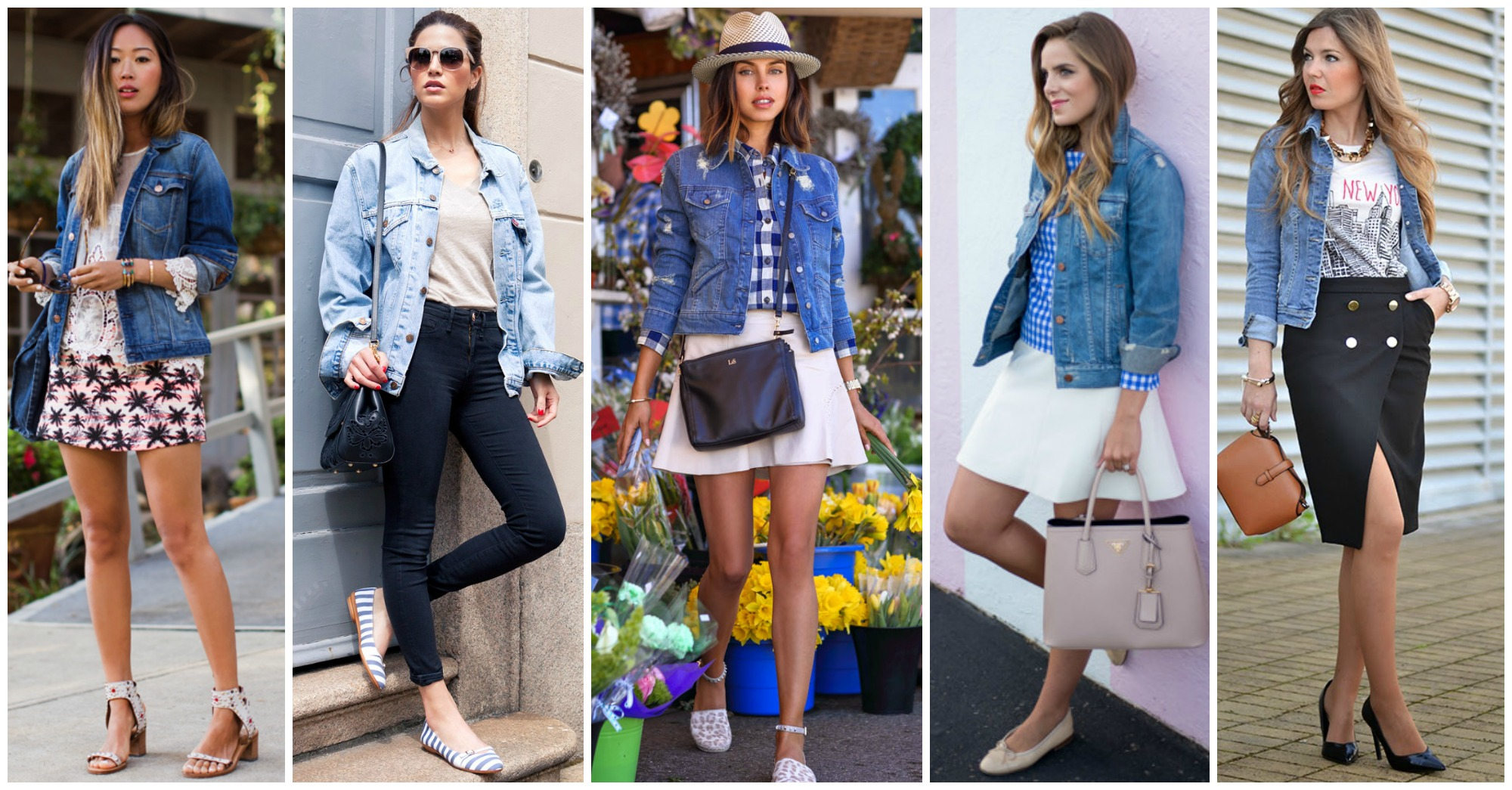 15 Fashionable Ways to Style Your Denim Jacket