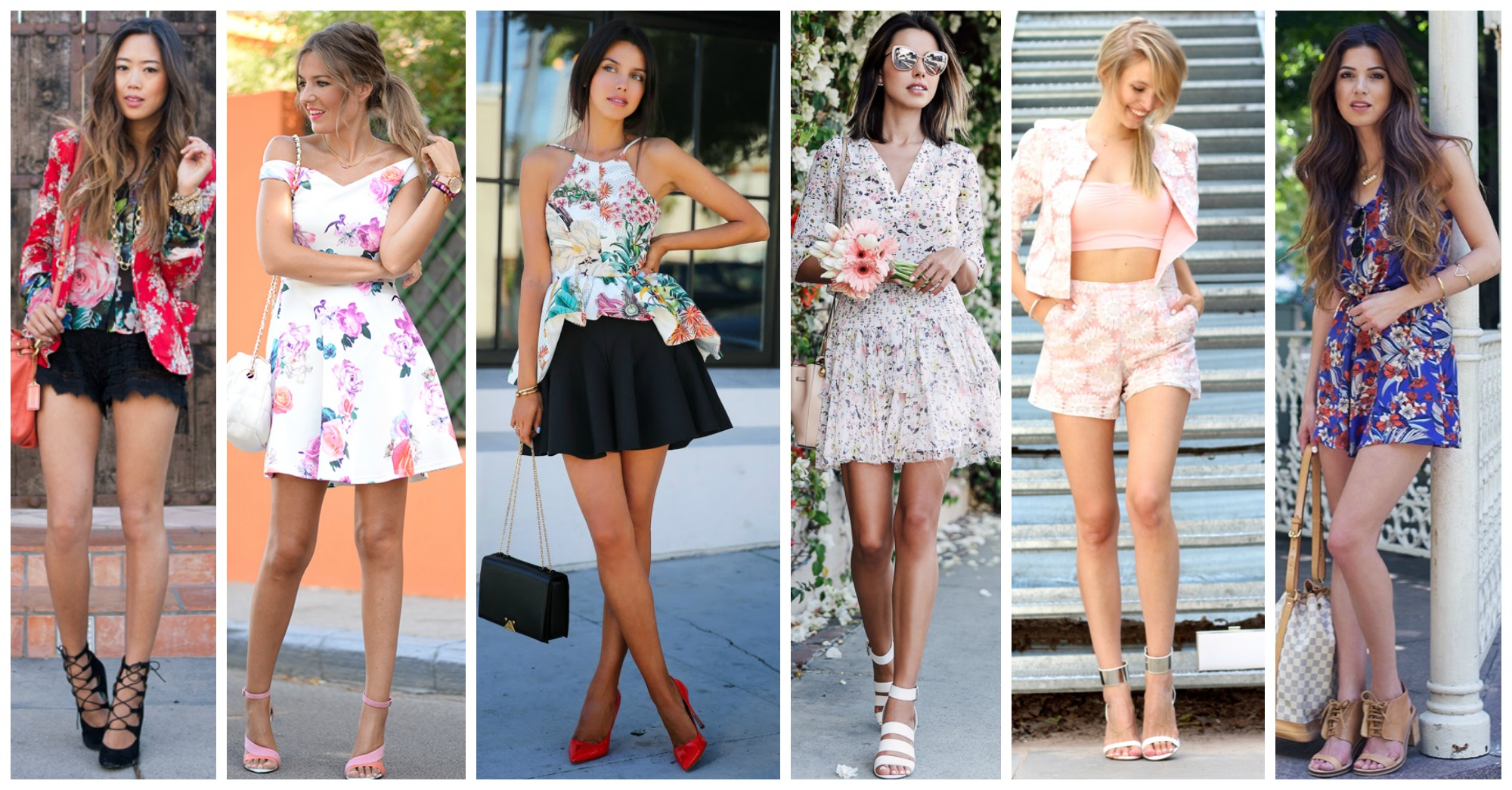 15 Chic Ways to Wear Floral Print Right Now