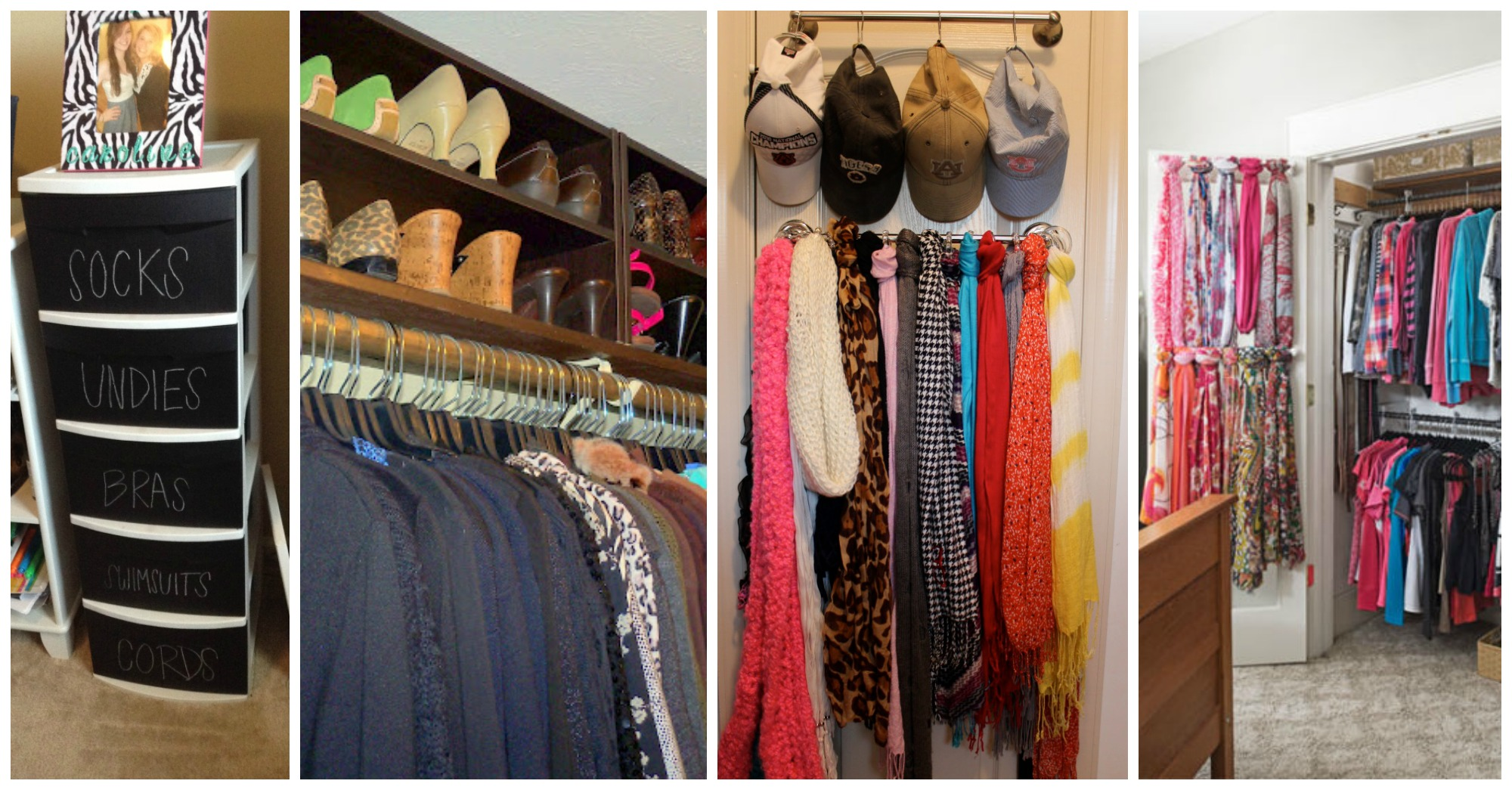 8 Smart Lifehacks For Your Tiny Closet
