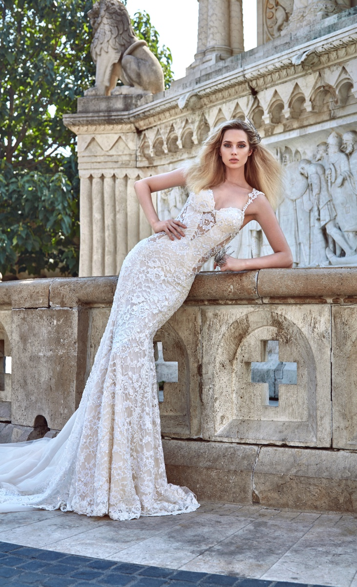 """Ivory Tower"" Wedding Dress Collection by Galia Lahav"