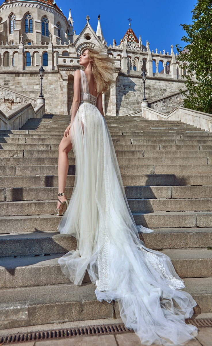 """Santorini"" – Evening Dress Collection by Julie Vino"