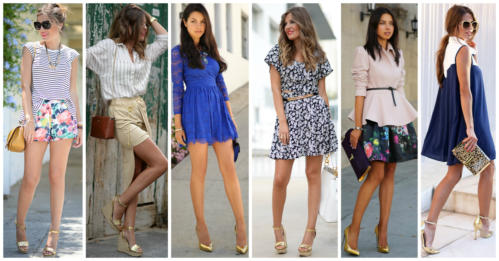 11 Chic Outfits with Golden Shoes for Any Occasion